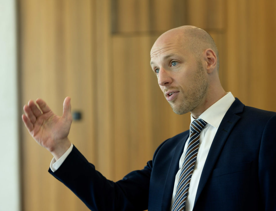Daniel Schoch: Jurymitglied und ehemaliger Teamleiter Start-up Finance