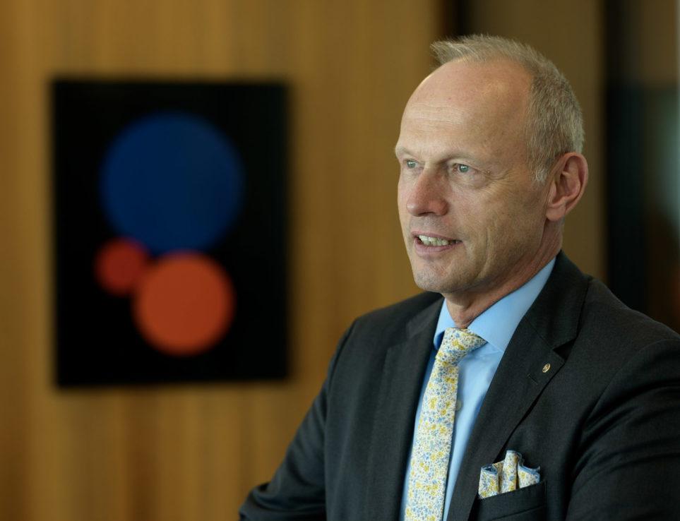 Jörg Müller-Ganz: Bankpräsident
